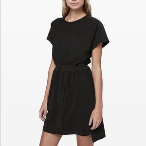 Lululemon Throw It On Dress Black 6
